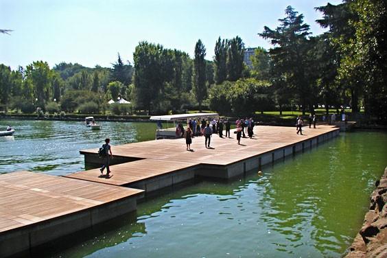 Un esempio di piattaforma galleggiante
