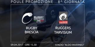 Rugby Brescia contro Ruggers Tarvisium