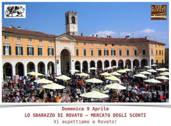 Lo Sbarazzo torna in piazza Cavour a Rovato domenica 9 aprile