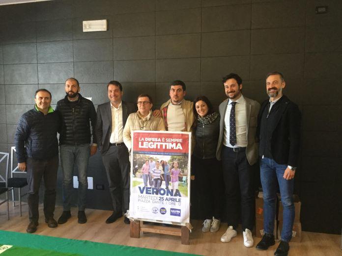 Simona Bordonali con i candidati sindaci del centrodestra bresciano, www.bsnews.it