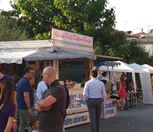 Uno scorcio del piazzale di via Vantini in occasione della festa di Campo Fiera, foto www.bsnews.it