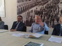 Da sinistra nella foto: Nicole Derelli (Sei Consulting), Alberto Cella (39Vantini), Aldo Rebecchi (Fondazione Micheletti), Mario Gaburri (39Vantini).