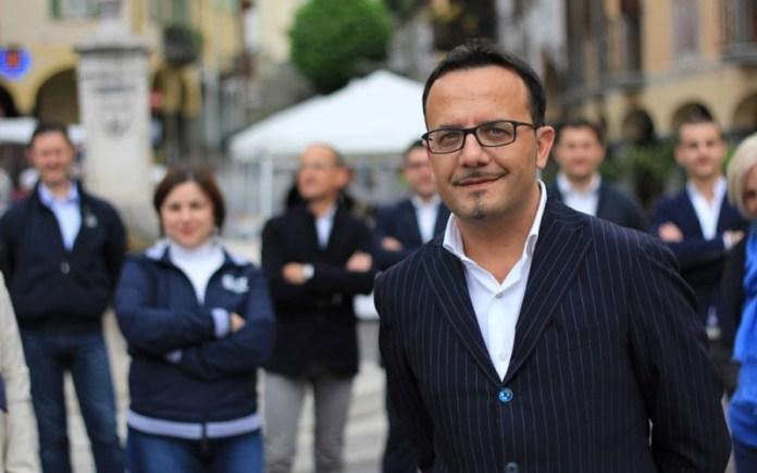 Il sindaco di Pisogne Diego Invernici