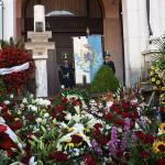 Le celebrazioni per l'anniversario della Strage di piazza Loggia, foto tratta dal profilo Facebook del sindaco Emilio Del Bono