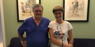 I medici Tabaracci e Covi, entrambi del Poliambulatorio San Rocco di Montichiari