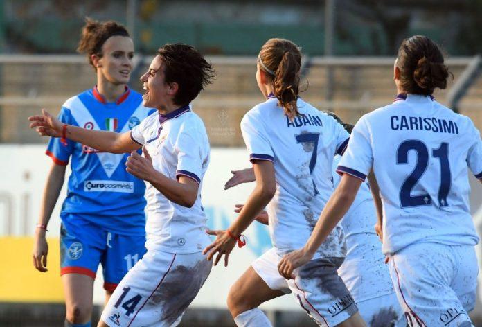 Fiorentina-Brescia Coppa Italia