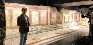 Alberto Angela a Brescia per registrare una puntata di Superquark, foto da Bresciatourism
