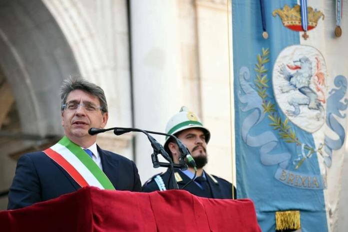 Il sindaco di Brescia Emilio Del Bono, foto da Facebook