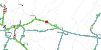 Il luogo dell'incidente sull'autostrada A4