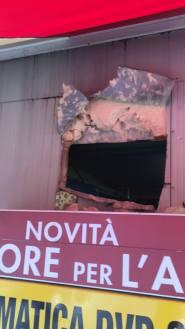 Erbusco, colpo al lavaggio Daytona, foto da Facebook