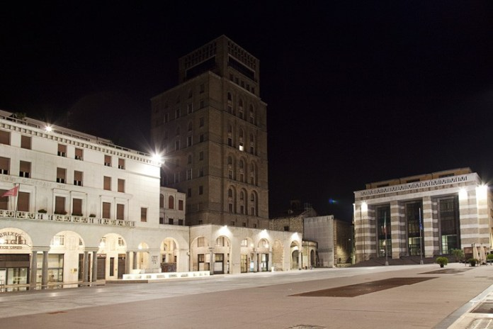 Piazza Vittoria a Brescia