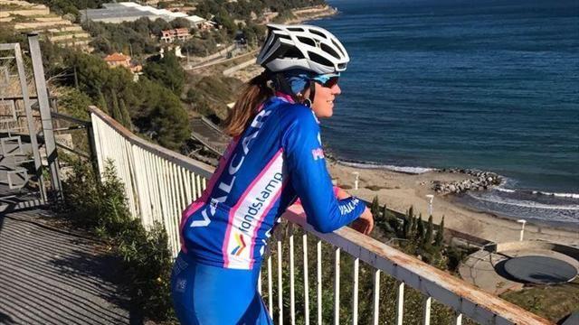 La ciclista Claudia Cretti: dopo la caduta al Giro è tornata a sorridere