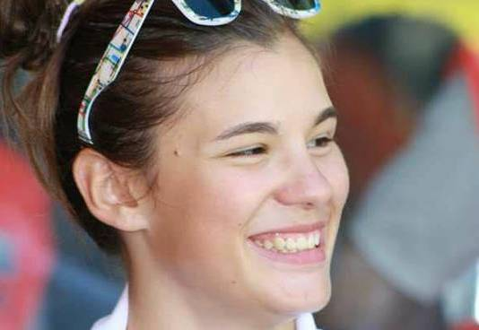 Claudia Cretti, la ciclista bergamasca vittima di una brutta caduta