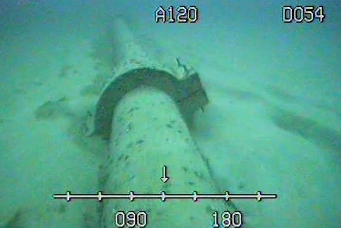 Una condotta subacquea