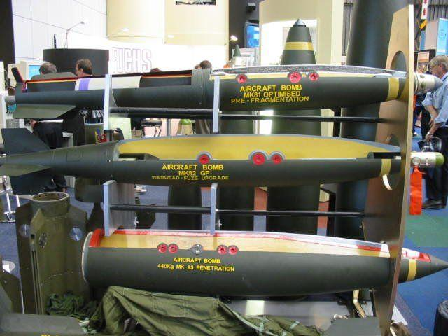 Le bombe Mk80