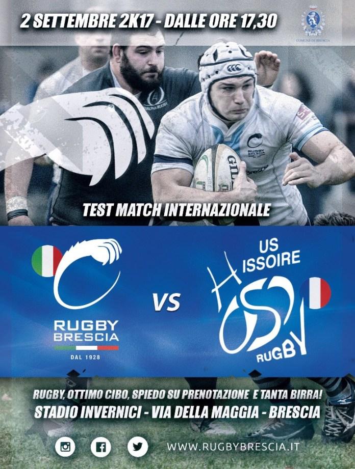 Sabato 2 inizierà la preseason del Rugby Brescia - foto da ufficio stampa