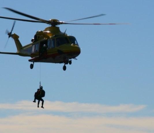 Il soccorso alpino in azione, foto da Cnsas