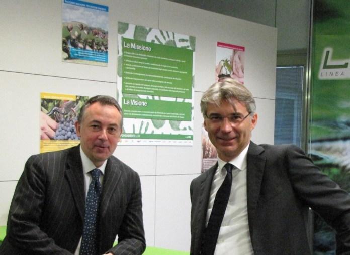 Allegato (foto): a sinistra Massimiliano Masi – AD LGH, a destra Antonio Vivenzi – Presidente LGH