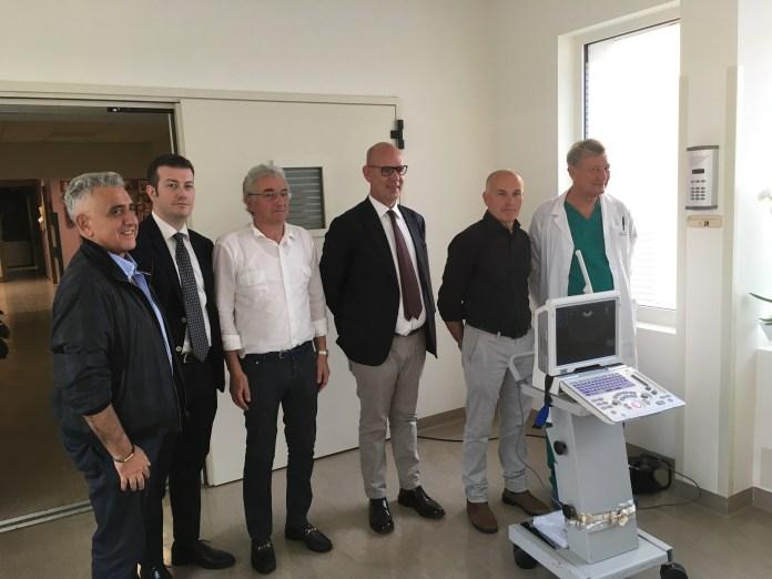 Il nuovo ecografo portatile donato all'Ospedale di Gavardo - foto da ufficio stampa