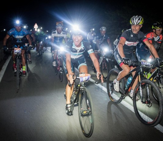 Un'immagine della Tremosine by night, da ufficio stampa