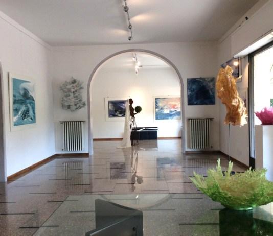 La sede de L'Altra Arte di Daniela Braga e Delfina Platto, a Bagnolo Mella
