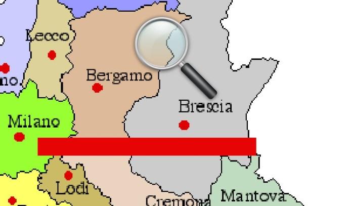 Brescia contro Bergamo