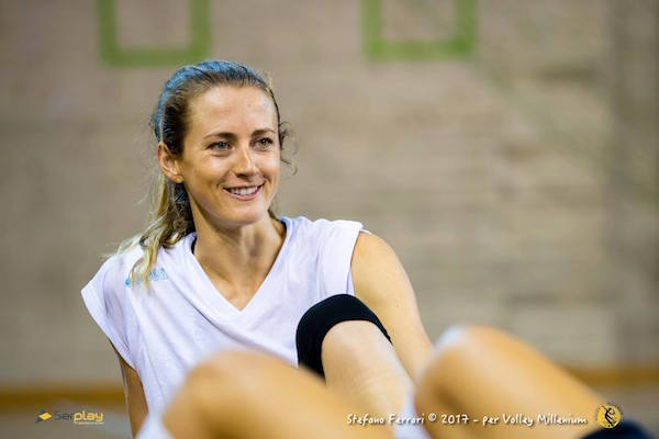 Catherine Anne Dailey, new entry a stelle e strisce per la Savallese Millenium, foto da ufficio stampa