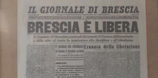 Il Giornale di Brescia in un'edizione storica