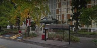 L'ingresso dell'istituto Zanardelli di Brescia, foto da Google Maps