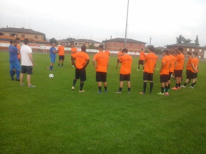Un allenamento dell'Ospitaletto calcio, foto da Ac Ospitaletto