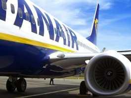 Un volo di Ryanair