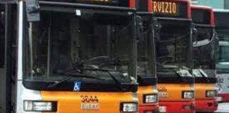 Bus in sciopero
