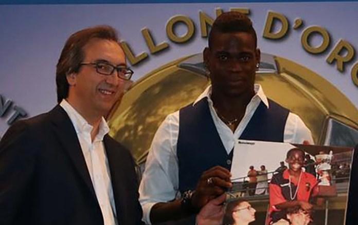 Giulio Tosini con Mario Balotelli