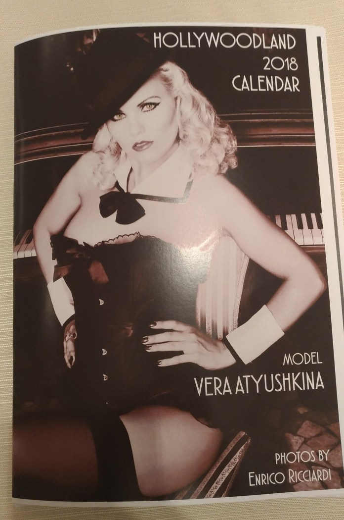 La cover del calendario di Vera Atyushkina, www.bsnews.it