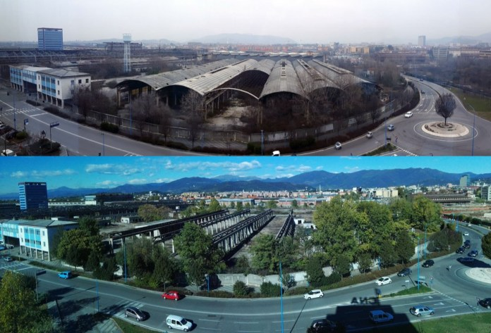 L'ex Pietra di Brescia: i tetti di amianto sono stati rimossi