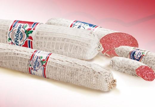 Alcuni dei salami prodotti da La Felinese: si precisa che solo una tipologia, e per un singolo lotto, è stata ritirata
