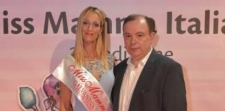 "Nicoletta Baroncini ""Miss Mamma Italiana Radiosa 2017"" e Paolo Teti, www.bsnews.it"