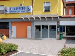L'ingresso dell'ospedale di Gavardo, in provincia di Brescia (Ast Garda)