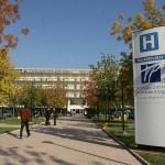 L'ingresso dell'ospedale Poliambulanza di Brescia