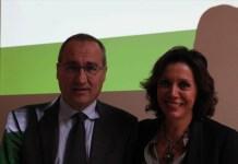 Fabrizio Scuri e Daniela Grandi, ad e presidente del Gruppo Gabeca di Montichiari, www.bsnews.it