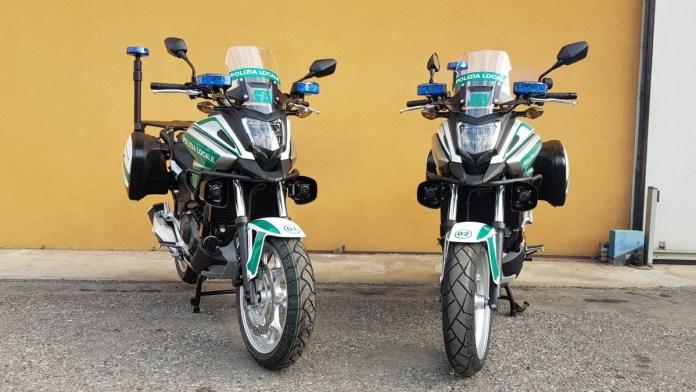Nuove moto in dotazione alla Polizia locale di Ospitaletto