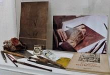 Giusy Lazzari, maestra d'incisione, mostra in AAB in Vicolo delle Stelle, dall'11 al 29 novembre 2017, foto di Enrica Recalcati per BsNews.it