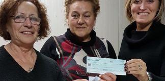 """A Bagnolo Mella l'associazione """"Giovani Sempre"""" dona 2000 euro - foto da ufficio stampa"""