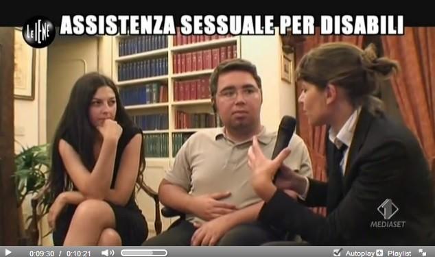Le Iene sono state tra i primi programmi televisivi ad occuparsi del tema dell'assistenza sessuale ai disabili in Italia