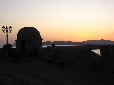 Le torri e i bastioni di Alghero