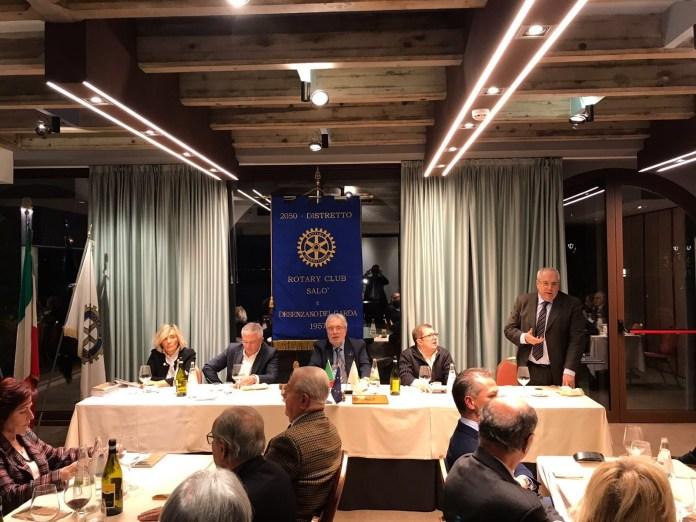 Cena stellata promossa dal Rotary di Desenzano del Garda e Salò per i più deboli