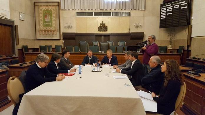 La conferenza stampa in provincia sul caso della Tangenziale di Orzinuovi