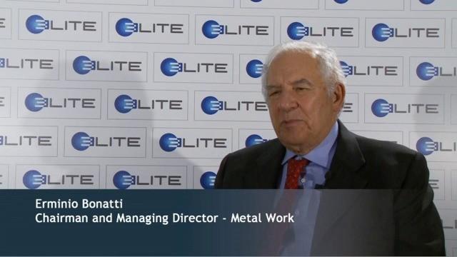 L'ex patron della Metalwork Erminio Bonatti