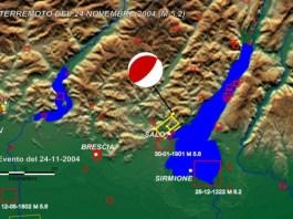 Il terremoto sul lago di Garda nel 2004