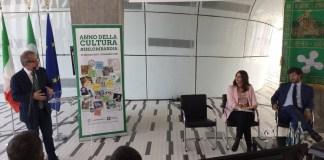 Roberto Maroni, Crstina Cappellini e Demetrio Albertini per Lombardiaperlacultura